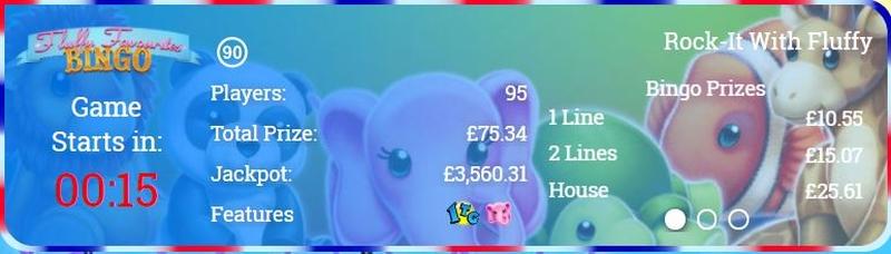 Fluffy Favourites Bingo Information