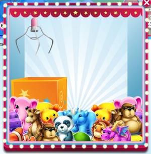 Fluffy Favourites Bingo Toy Grabber Feature