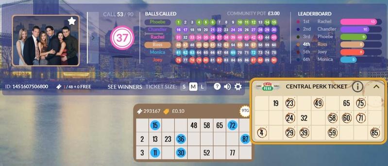Friends Bingo Community Jackpot