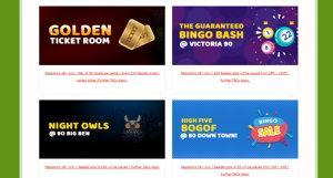 Fun Bingo promotional page screenshot