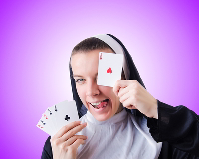 Gambling Nun