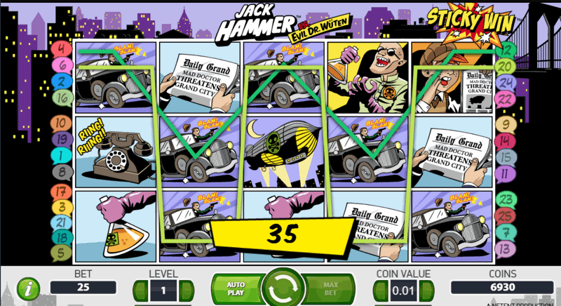 jack hammer high RTP slot game