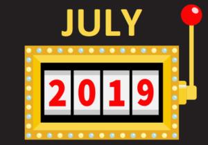 july 2019 new slots