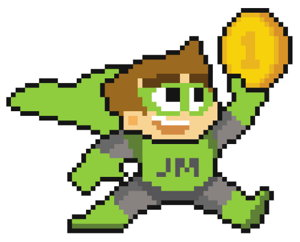 jumpman gaming mascot screenshot
