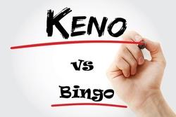 Keno vs Bingo Small
