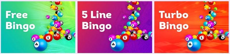 Lucky Pants Bingo games