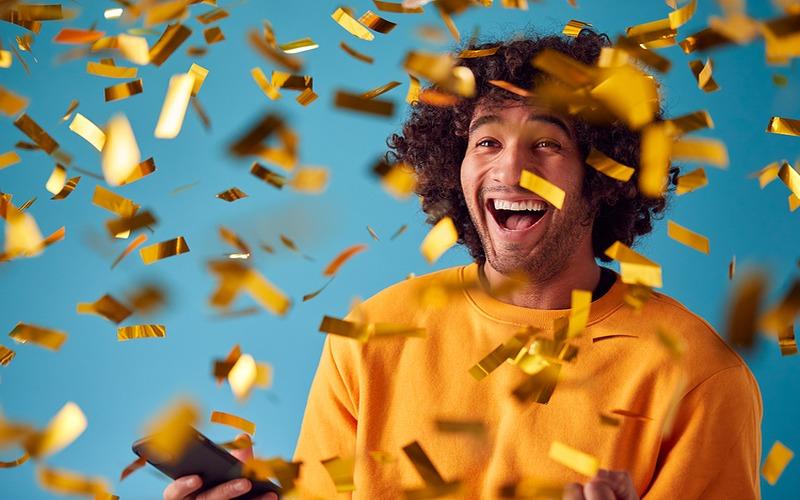 Man Wins Bingo Prize