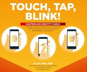 mastercard biometrics screenshot