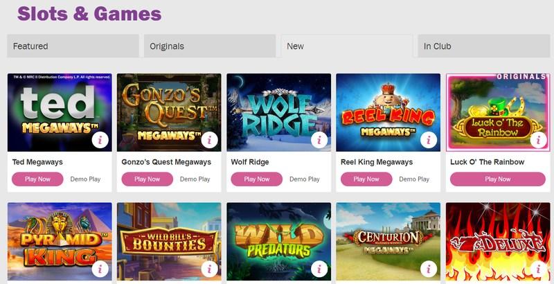 Mecca Bingo Other Games
