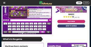mfortune homepage screenshot