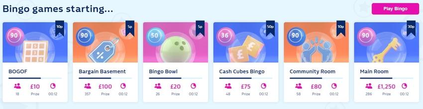 Online Bingo Games About to Start