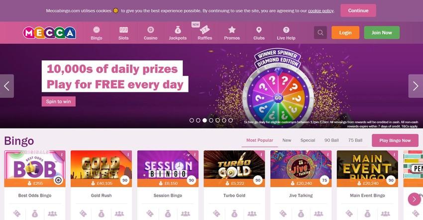 Online Bingo Site