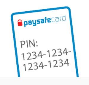 paysafecard pin number screenshot