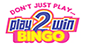 Play2Win Bingo website logo
