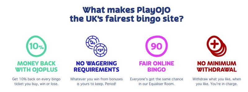 playojo fairest bingo site