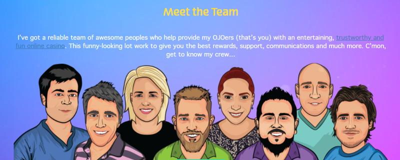 playojo meet the team