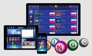 playtech mobile bingo screenshot