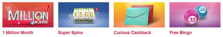 Heart Bingo bonus page screenshot