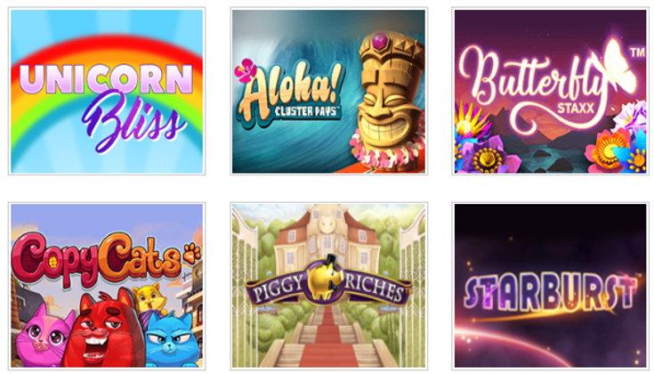 Little Miss Bingo slots games screenshot