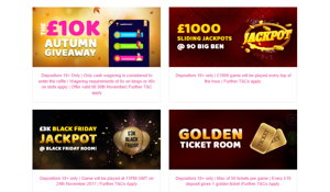 Little Miss Bingo promotional page screenshot
