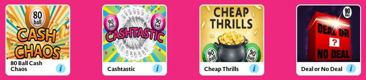 Love Your Bingo games screenshot