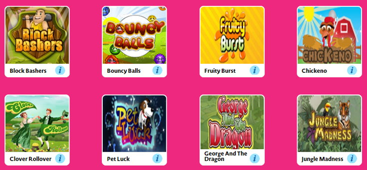 Love Your Bingo slots games screenshot