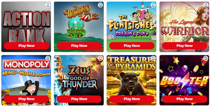 Sun Bingo slots games screenshot