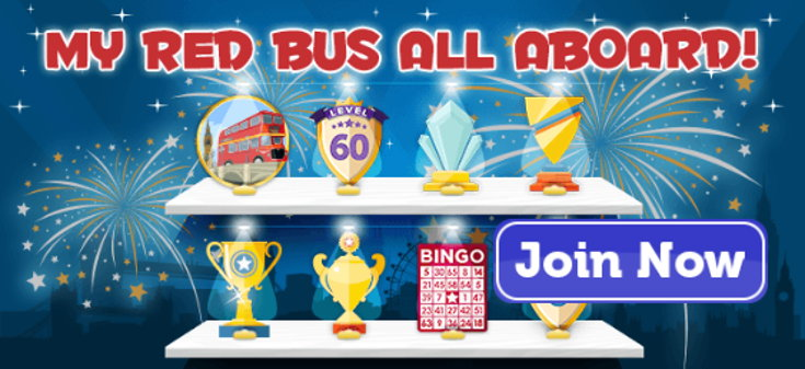 Red Bus Bingo website screenshot