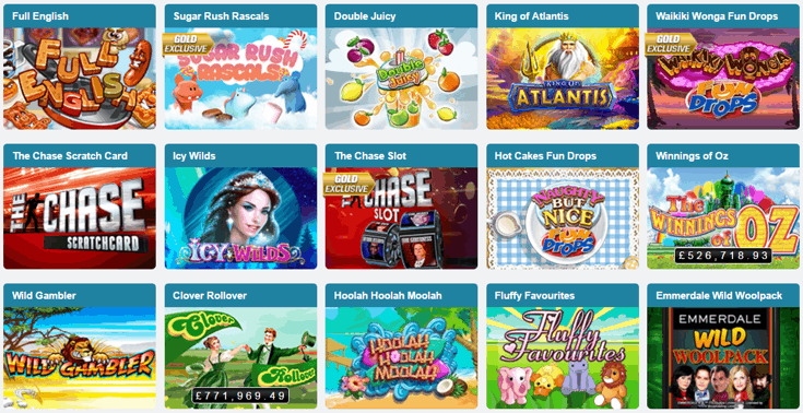 Coral slots games screenshot
