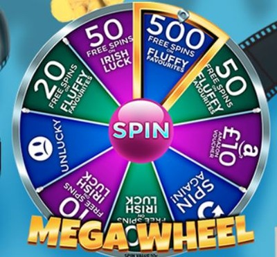Showreel Bingo Megawheel