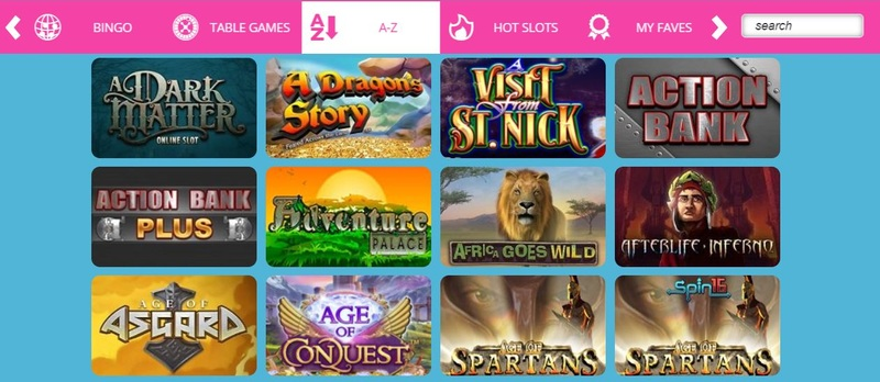 Showreel Bingo Slots