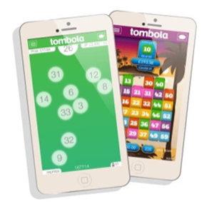 tombola mobile app screenshot