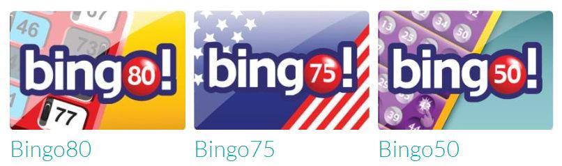 Tombola Bingo variants screenshot