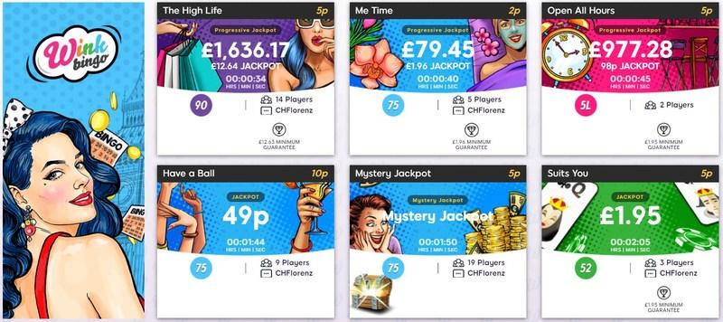 Wink Bingo Games